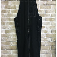 NorthNoName(ノースノーネーム)-30's TYPE LINEN OVER ALL(BLACK)