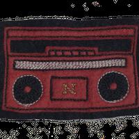 North No Name(ノースノーネーム)-FELT PATCH(RADIO)