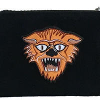 "NorthNoName(ノースノーネーム)- NNN PATCH PATERN ""TIGER"" POACH-SMALL(BLACK)"
