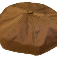 NorthNoName(ノースノーネーム)-COTTON BERET(REDDISH BROWN)