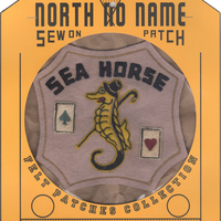 North No Name(ノースノーネーム)-FELT PATCH SEA HORSE