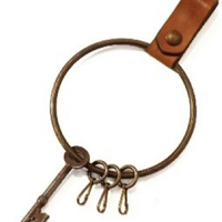 VASCO(ヴァスコ)-VS-671  LEATHER JAIL KEY HOLDER