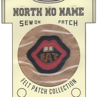 North No Name(ノースノーネーム)-FELT PATCH (EAT)