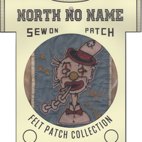 North No Name(ノースノーネーム)-FELT PATCH ONLY A CLOWN