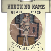 North No Name(ノースノーネーム)-FELT PATCH (HOOK UP)