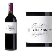 フランス ボルドーワイン AOC ポムロール フロンサック「シャトー・ヴィラール」2006年 赤 750ml