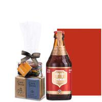 【ビールとチョコレートのギフト】ベルギー産クラフトビール「シメイ レッド」330mlとベルギーチョコレートアソート20枚入り