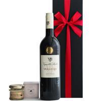 赤ワインとテリーヌのセット フランス ラングドック・ルーション 辛口 750ml コルシカ島 イノシシのテリーヌ 仏産 オーガニック ギフト箱入 誕生日 内祝い