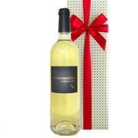 送料無料 ギフト 白ワイン フランス ドメーヌ・ベロ 「グルマンディーズ」 やや甘口 750ml ラングドック・ルーション AOCサン・シニアン お祝い(21LBEGB16C-w)