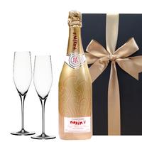 送料無料 シャンパン シャンパングラス  ギフト フランス マキシム・ド・パリ シャンパーニュ ブラン・ド・ブラン ゴールド・キュヴェ 750ml ドイツ シュピゲラウ (OG25-153167)