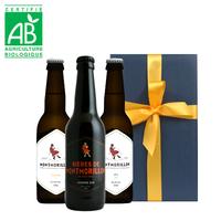 お中元 クラフトビール フランス 330ml 3本セット  IPA オーガニック ビオ BIO 地ビール 海外ビール 飲み比べ  プレゼント(OG96-BLIPAM)