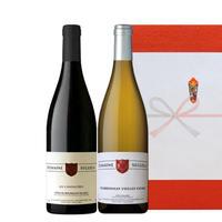 お中元 送料無料 【紅白ワインギフト】フランス ワイン2本セット ドメーヌ・セグラ(OG95-DSCANCHV)
