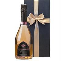フランス シャンパン製法  ロゼスパークリング 「レ・コードリエ・ロゼ」 辛口  750ml ギフト箱入り  クレマン・ド・ボルドー ラッピング付 熨斗可能(OG05-002378)