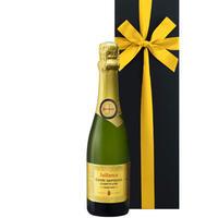 《内祝い》フランス スパークリングワイン「キュヴェ・インペリアル・トラディション」コート・デュ・ローヌ、AOCクレレット・ド・ディ ジャイアンス  375ml(OG95-H09820)