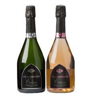 《おうち飲み》スパークリングワイン 2本セット【クレマン・ド・ボルドー】「レ・コードリエ」白とロゼ2本セット (OG99-625627)
