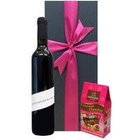 ギフト 南フランス 滑らかなタンニンと濃厚な味わいのビオワイン(500ml) フランスのチョコレート 誕生日 プチギフト