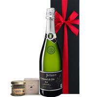 【送料無料】ワインとグルメのギフト フランス ローヌ スパークリングワイン 辛口 750ml コルシカ島 オーガニック オリーブとハーブ風味のテリーヌ ビオ(OG15-150814)