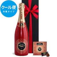 《クール便送料無料》【シャンパンとスイーツのギフト】フランス MAXIM'S DE PARIS「シャンパーニュ ブラン・ド・ノワール キュヴェ・アンネ・フォール」とショコラトリュフ