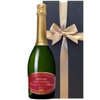 送料無料 スパークリングワイン ギフト  辛口 750ml フランス ジャイアンス 「クレマン・ド・ボルドー・ブリュット キュヴェ・ド・ラベイ」 ギフト包装付 お祝い お礼(OG05-002377)