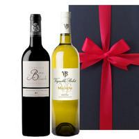 【送料無料】お中元 御中元 ギフトフランス 赤白ワイン 2本セット 南フランス  シラー グルナッシュ 750ml×2本