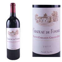 フランス、ボルドー、サン・テミリオン、グランクリュ 「シャトー・フォンベル」2012年 赤ワイン、750ml(OG01-030339)