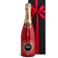 《結婚祝い》【シャンパンギフト】フランス《マキシム・ド・パリ》「レッド・キュヴェ・ブラン・ド・ノワール」 ピノ・ノワール100% 750ml 結婚祝いお誕生日(61CMPBNNC0-w)