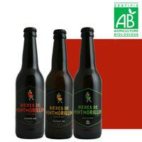 オーガニック 地ビール ビオ 3本セット モンモリヨン 飲み比べ お祝い   ギフト 誕生日 プレゼント ラッピング付 熨斗可