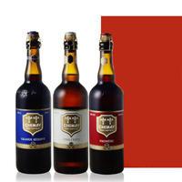 ◆送料無料◆【ビールギフト】ベルギービール 3本 飲み比べセット クラフトビール ベルギーの伝統的トラピストビール 750ml ギフト箱付き メッセージカード(OG96-BCHBRW)