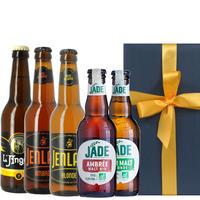 【ビールギフト】フランスのクラフトビール5本セット ブロンド アンバー 地ビール 海外ビール 飲み比べ プレゼント(OG96-JLMOB15)
