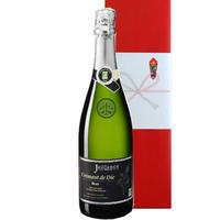 【送料無料】スパークリング ワイン ギフト フランス クレマン・ド・ディー・ブリュット・ビオ 辛口 750ml お祝い プレゼント 結婚祝い お歳暮  熨斗可