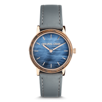 The Avalon 34mm - LUNA (Ebony Wood/Blue Mother of Pearl)