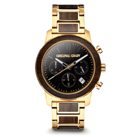 Barrel Chronograph 42mm - Ebony Gold