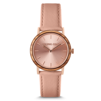 The Avalon 34mm - PALOMA (Zebrawood/RoseGold)
