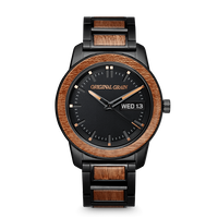 The Barrel 2.0 42mm - Sapele Black