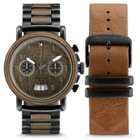 The Alterra Chronograph - The MILITARY Collection/Alpha/Bomber