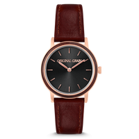 The Avalon 34mm - FIONA (Ebony/RoseGold)