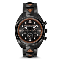 The Grainmaster Chronograph 45mm - Sapele Black