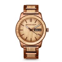 The Barrel 2.0 42mm - Whiskey Espresso