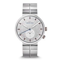 The Sport MNML 43mm - Walnut Silver