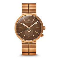 The Sport MNML 43mm - Walnut Bronze