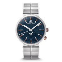 The Sport MNML 43mm - Mahogany Silver