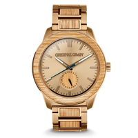 The Barrel 2.0 46mm - Tequila Barrel/24HR WOOD SUBDIAL