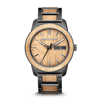 The Barrel 2.0 42mm - KOA STONEWASHED STEEL