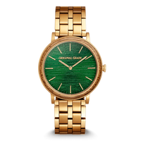 The Minimalist 40mm  - Zebrawood Gold