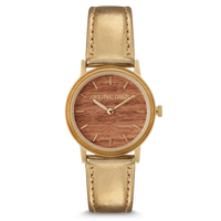 The Avalon 34mm - LOLA (Burl/Gold)