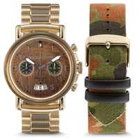 The Alterra Chronograph 44mm - The MILITARY Collection/General/Camo