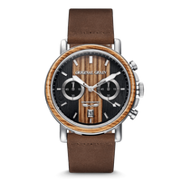 The Alterra Chronograph 44mm - The BREWMASTER™ Leather (Updated Ver.)
