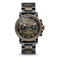 The Alterra Chronograph 44mm - Military Stonewashed Steel
