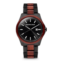 The Classic 43mm - Rosewood Black
