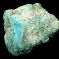 キングマンターコイズ原石(アリゾナ州産・36.4x27.2x18.3mm・19.7g)